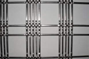Aluminum Crimped Mesh for Decorative Curtains