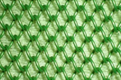 Green Chain Link Mesh For Decoration