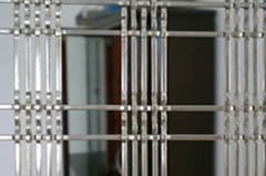 Crimped Wire Mesh for Doors
