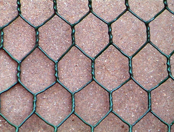 Green Coated Chicken Mesh