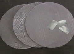 Pack screen wire mesh