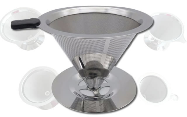 Coffee Filter for 6, 8 and 10 Cups Coffee Makers