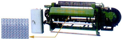 Machine for Weaving Stainless Steel Insect Screening